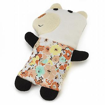 Warmies Cozy Craft Fully Microwavable Toy: Quirky Bear