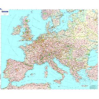 Europe Political - Encapsulated Wall Map - 9782067142916 Book