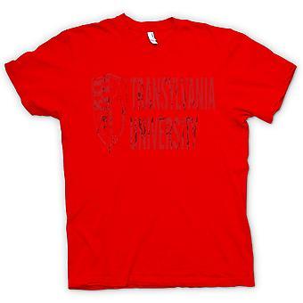 Womens T-shirt - Transylvania University - Funny Horror