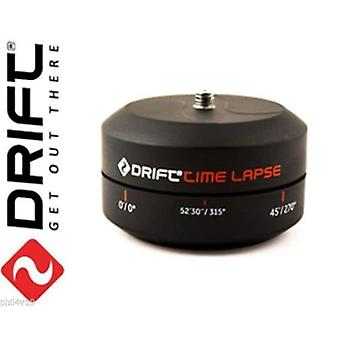 Drift time lapse mount for HD720, HD stealth, Ghost, & S & 4K action cameras