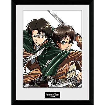 Attack On Titan  Framed Collector Print 40x30cm