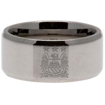 Manchester City FC Band Ring