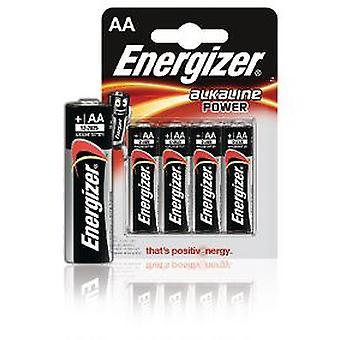 Energizer alkaliske makt Lr6 (Aa) 4 Uds