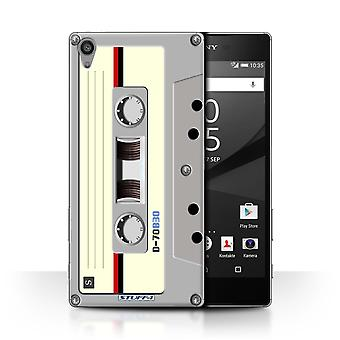 STUFF4 Case/Cover voor de Sony Xperia Z5 Premium/5.5/Compact Cassette Tape/Retro Tech