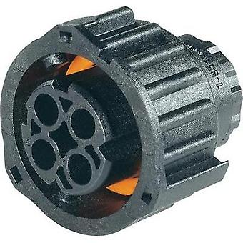 TE Connectivity 1-967325-1 AMP Round Plug Connector In Acc. With DIN 72585 - 2-4-pin Number of pins: 4