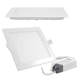 I LumoS LED 15 Watt Square Recessed Lighting Panel UltraSlim Ceiling Light Warm White
