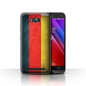 STUFF4 Case/Cover for Asus Zenfone Max ZC550KL/Germany/German/Flags