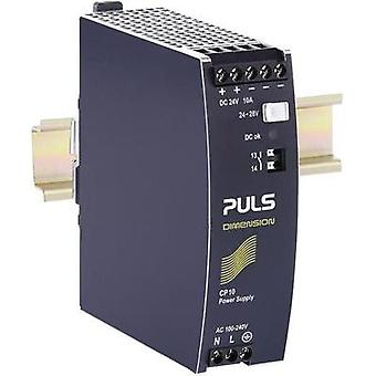 Rail mounted PSU (DIN) PULS CP10.241 24 Vdc 10 A 240 W 1 x