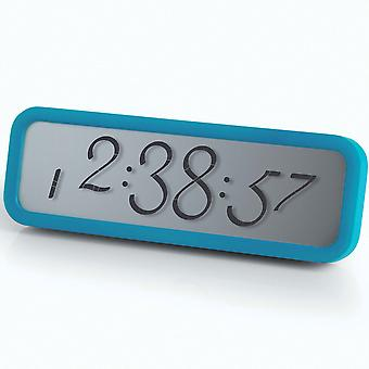 Blue Lexon Script Digital Alarm Clock