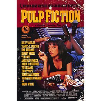 Ficção de polpa Movie Poster Print (27 x 40)