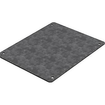 Mounting plate (L x W) 174 mm x 103 mm Steel plate Deltron Enclosures 4MP2212 1 pc(s)