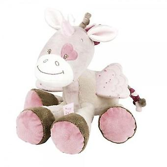 Nattou Nina, Jade & Lily: Teddy Jade Unicorn (Babies , Toys , Stuffed Animals)
