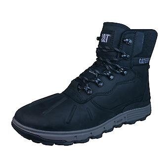 Caterpillar Stiction Hiker Ice Mens Leather Waterproof Boots - Black