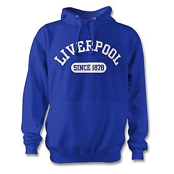 Bluza z kapturem Liverpool Football 1878 ustalone