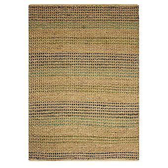 Natural Organic Stripes Jute Rug Kuala