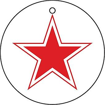 Soviet Russian Air Force Roundel Car Air Freshener