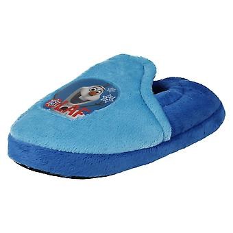 Boys Frozen Olaf the Snowman Slippers