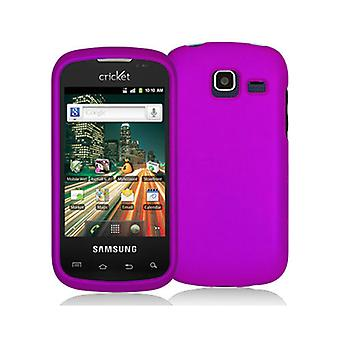 Decoro Premium Protector Case for Samsung R730/ Transfix - Rubber Purple
