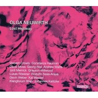 Crowly/Hauman/mos/Nigl/Watt - Olga Neuwirth: Lost Highway [CD] USA import
