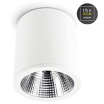 Leds C4 Plafón Exit 1xLed Cree 25,9W Blanco (Home , Lighting , Hanging lamps)