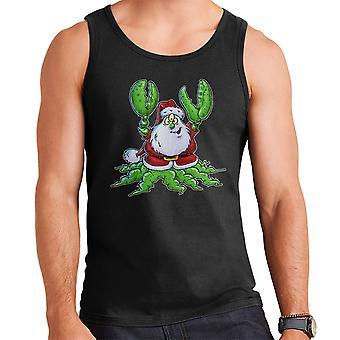 Santa Claws Christmas Men's Vest
