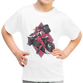 Bombs Away Mistah J Harley Quinn Suicide Squad Kid's T-Shirt
