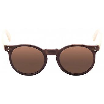 Ocean Lizard Wood Sunglasses - Brown/Brown
