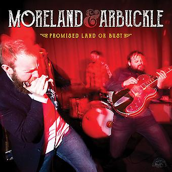 Moreland & Arbuckle - Promised Land or Bust [CD] USA import