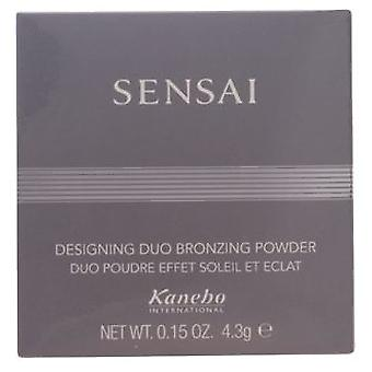 Kanebo Sensai Bronzing Powder Duo 4,3Gr (Make-up , Face , Tanning lotion)