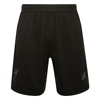 2017-2018 Liverpool Knitted Training Shorts (Black)