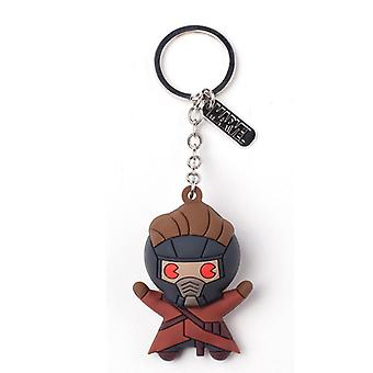 Guardians Of The Galaxy Vol 2 Peter Quill/Starlord Keyring - Multi-colour