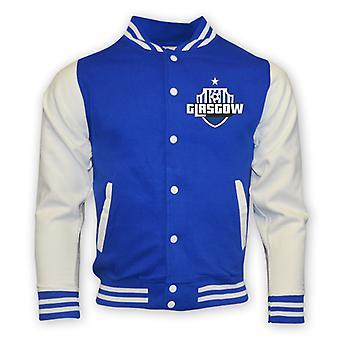 Rangers College Baseballjacke (blau)