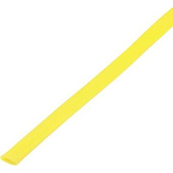 Braided hose Yellow PET 20 up to 28 mm Conrad Components