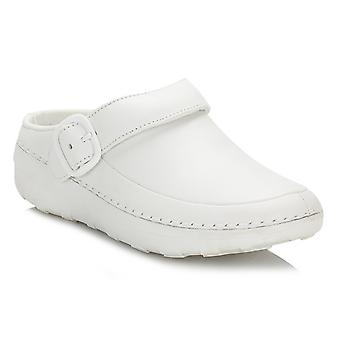 FitFlop Womens Urban White Gogh Pro Superlight Clogs