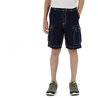 Regatta Boys & Girls Shorefire Coolweave Cotton Canvas Washed Shorts