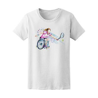 Deaktivert Sport rullestol Tennis Tee kvinner-bilde av Shutterstock
