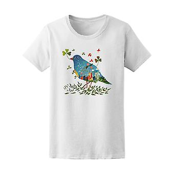 Bird With Landscape Body Tee Women's -Image by Shutterstock