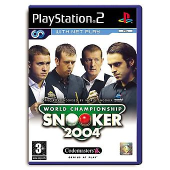 World Championship Snooker 2004 (PS2)