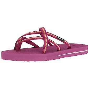 Teva Girls olowahu Slip On Thong Flip Flops