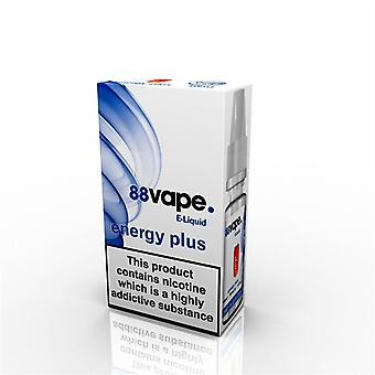 88 Vape E-Liquid Nicotine 16mg Energy Plus 10ML