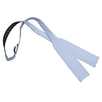 Lys blå Panama silke Batwing Self Tie sløyfe