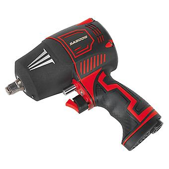 Sealey Sa6006 Composite Air Impact Wrench 1/2Sq Drive Twin Hammer