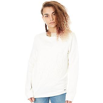 ONeill Powder White Lace Detail - Crew Womens Sweater