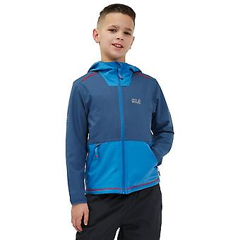 Jack Wolfskin Turbulence Softshell Junior Jacket