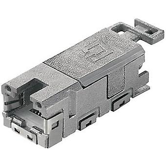 STX V 1 RJ45 module use CAT 6A Socket, straight Number of pins: 8P8C J80029A0000 Telegärtner J80029A0000 1 pc(s)