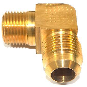 Big A Service Line 3-149908 Brass Pipe, 90 deg Street Flare Elbow 5/8