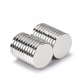 Neodym Magnet 14 x 2 mm Scheibe N35 - 5 Stück
