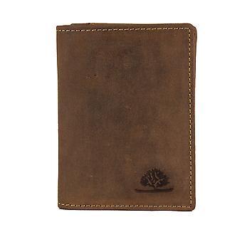 Documento de solução de cartão de identificação de couro vintage Greenburry conjunto cartão caso 1794B-25