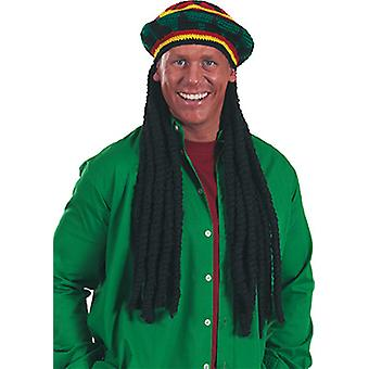 Reggae Hat accessories Hat Halloween Carnival Rastafari Jamaican