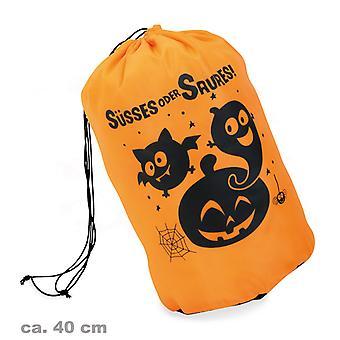 Zucca di Halloween borsa fantasmi Orange